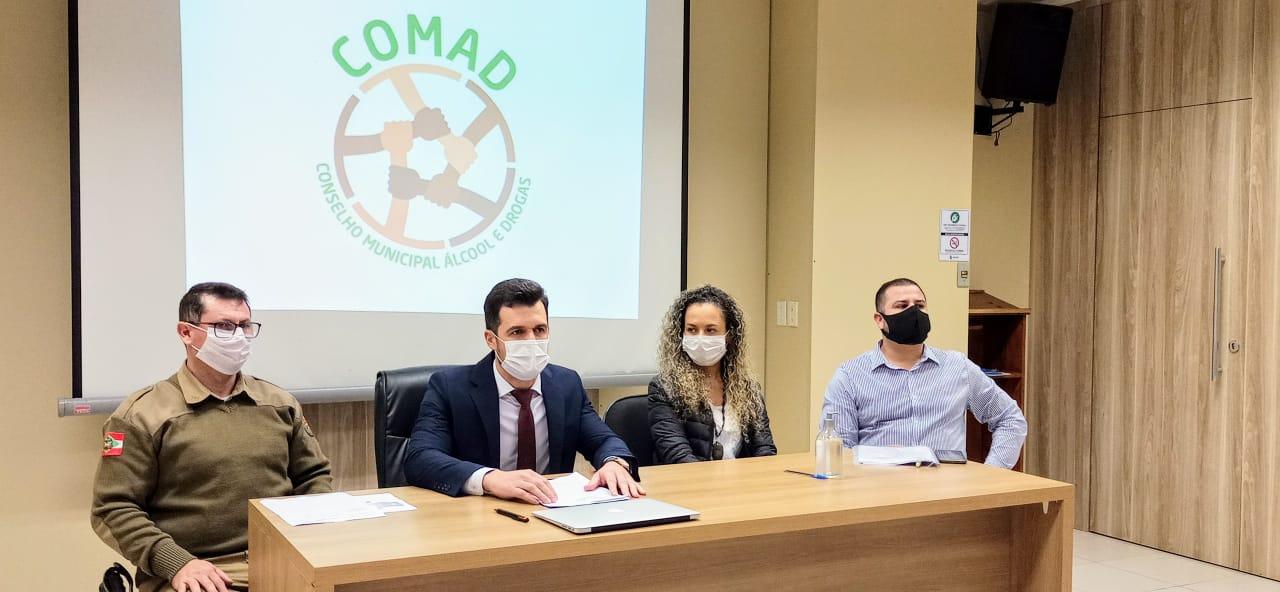 Comad apresenta ações e projetos para política de prevenção e combate às drogas