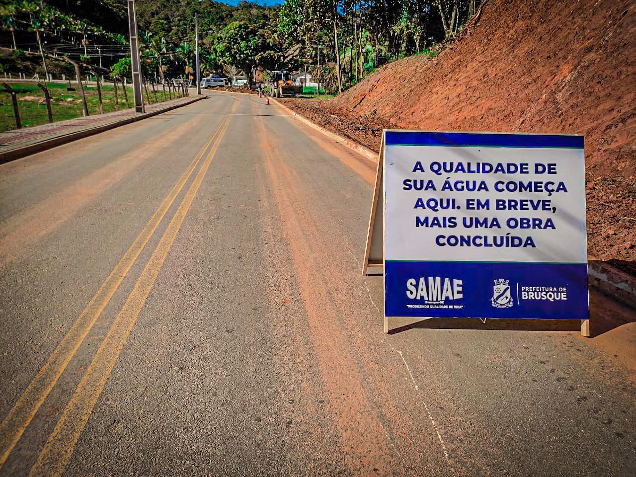Samae dá início a expansão de rede no bairro Limeira