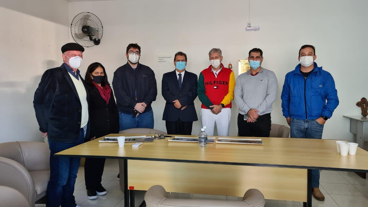 Secretário de Saúde visita o Hospital Dom Joaquim