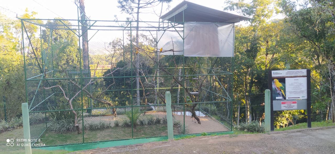 Zoobotânico de Brusque prepara os animais para o frio