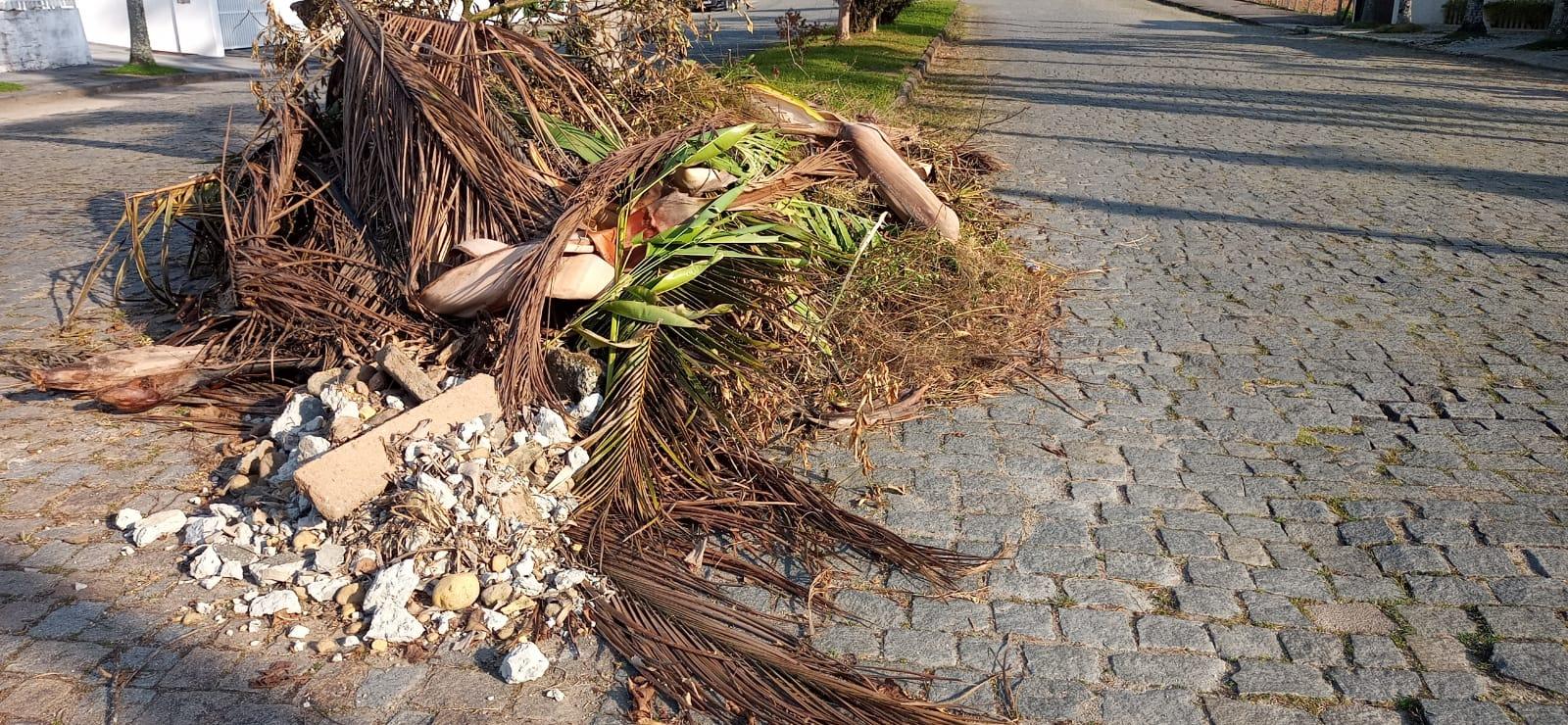Prefeitura averigua descarte irregular de resíduos