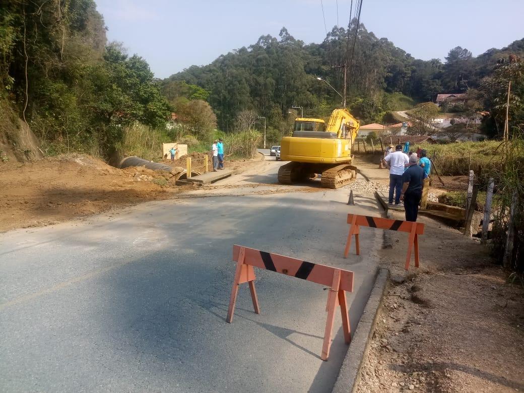 Secretaria de Obras inicia construção de nova ponte no bairro Ponta Russa