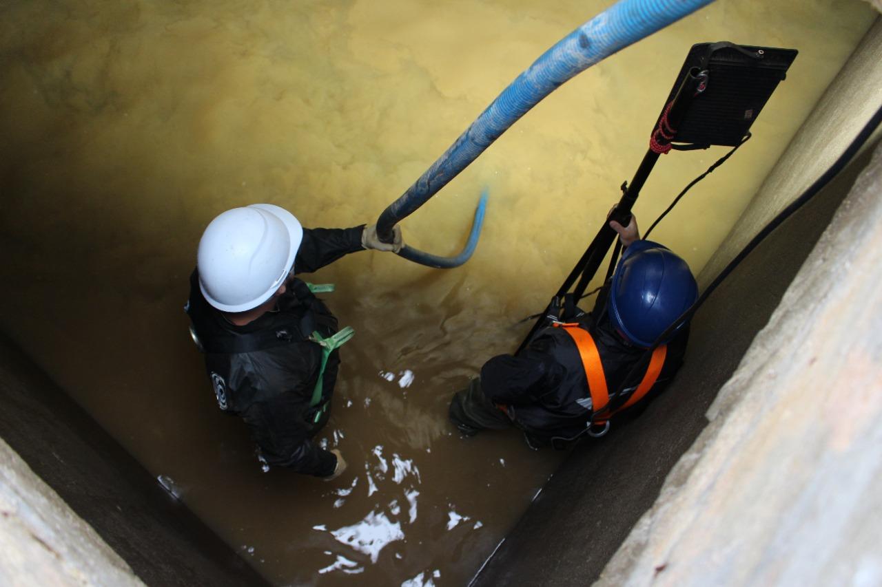 Samae Brusque retoma limpezas de reservatórios na próxima segunda-feira, 31