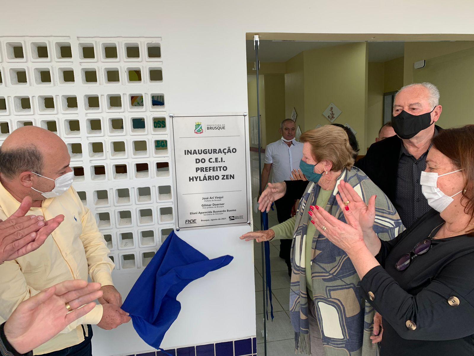 Centro de Educação Infantil Hylário Zen é oficialmente entregue à comunidade