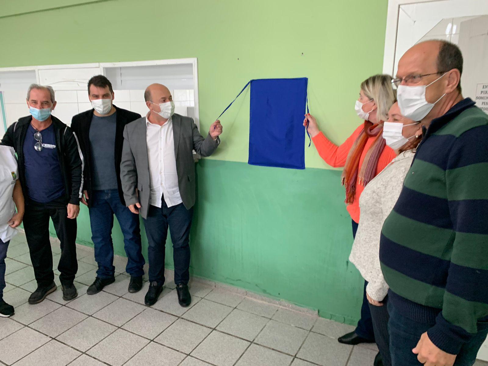 Nova cozinha da EEF Georgina da Luz é entregue oficialmente à comunidade