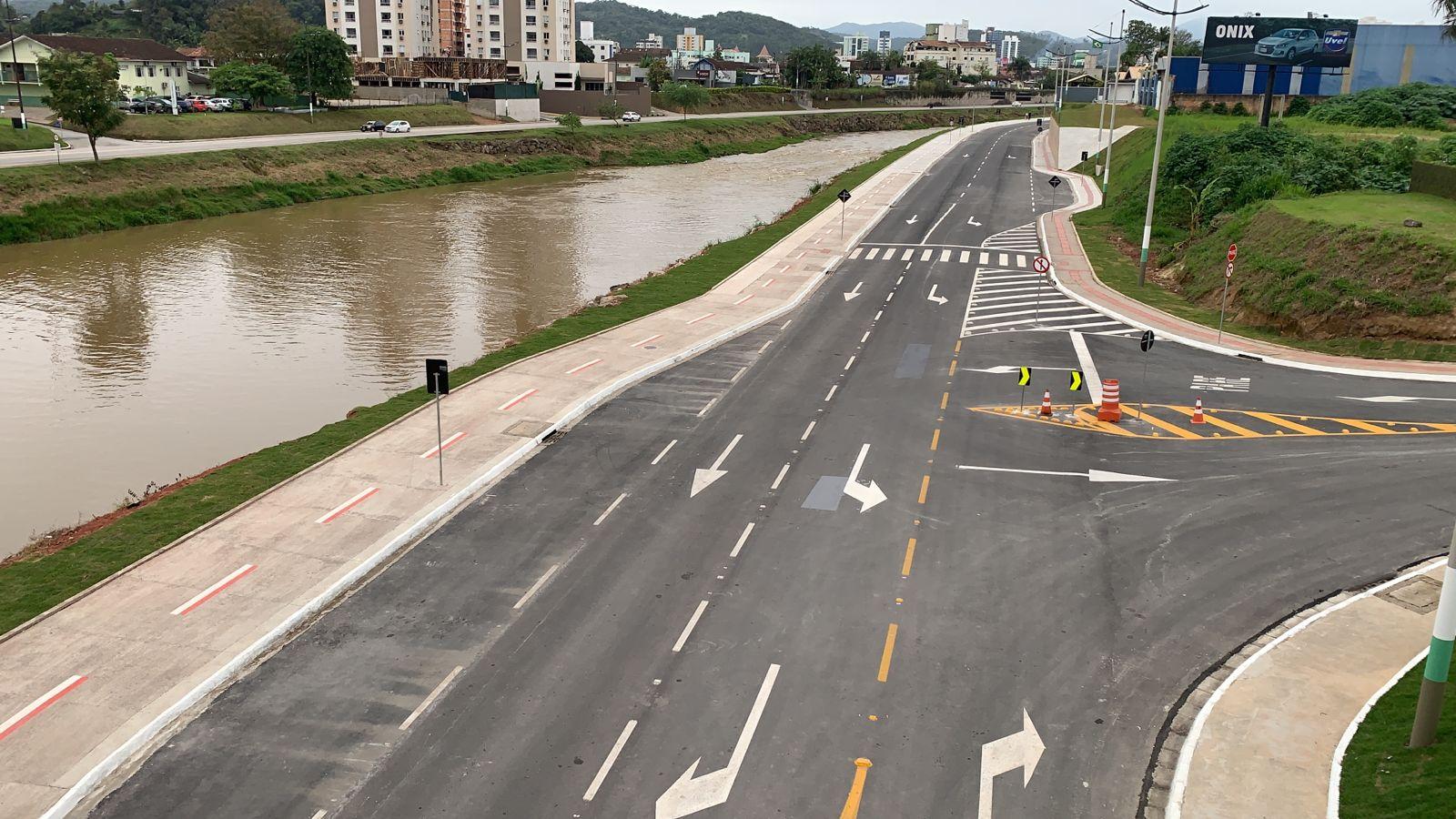 Avenida Governador Luiz Henrique da Silveira estará fechada para atividades de lazer no final de semana