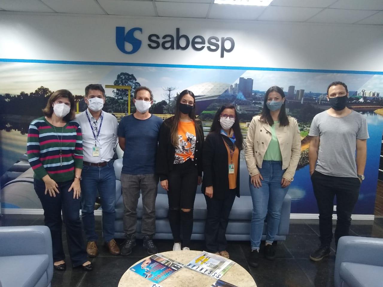 Comitiva do Samae faz visitas técnicas na maior empresa de saneamento do país