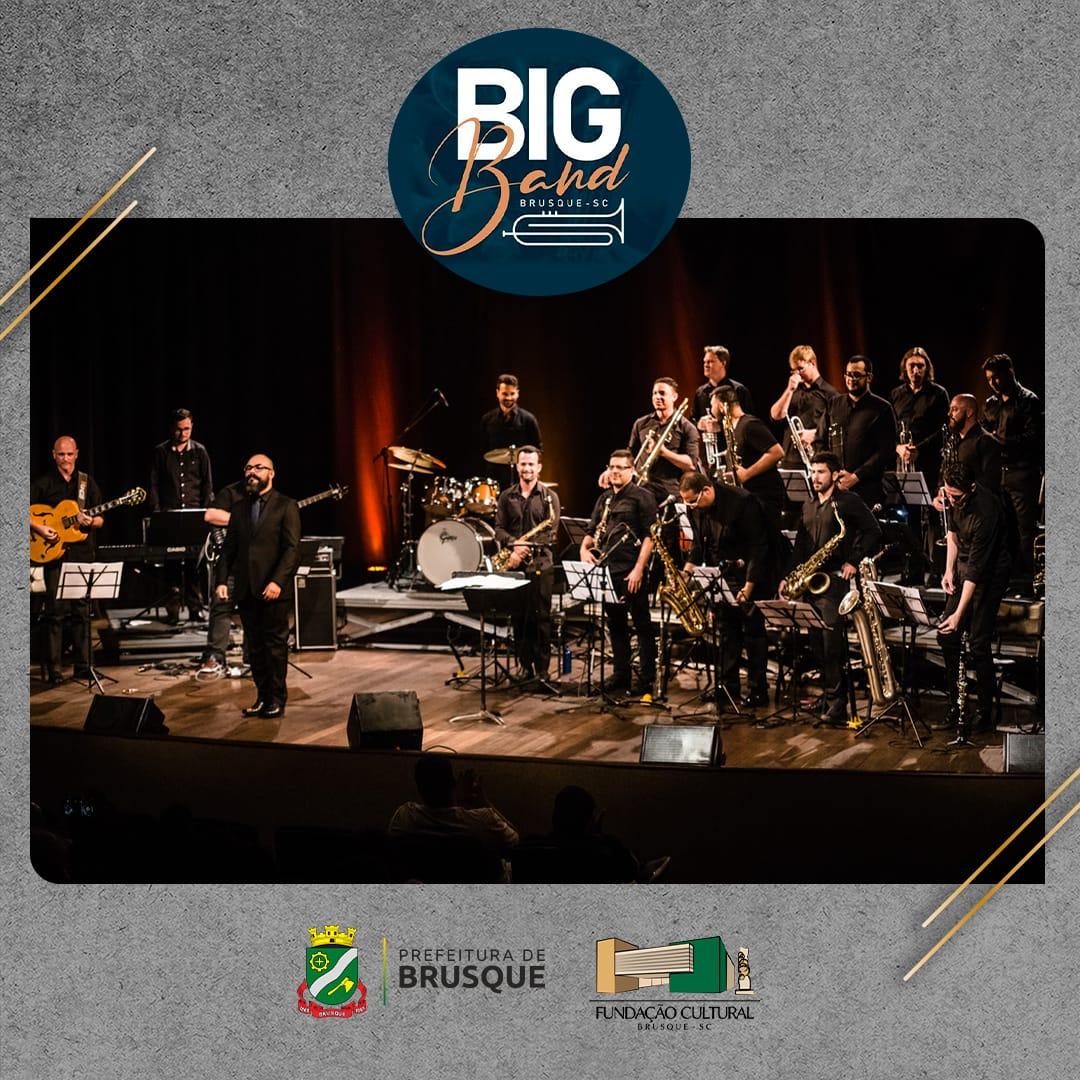 Fundação Cultural lança edital para seleção de músicos da Big Band Brusque