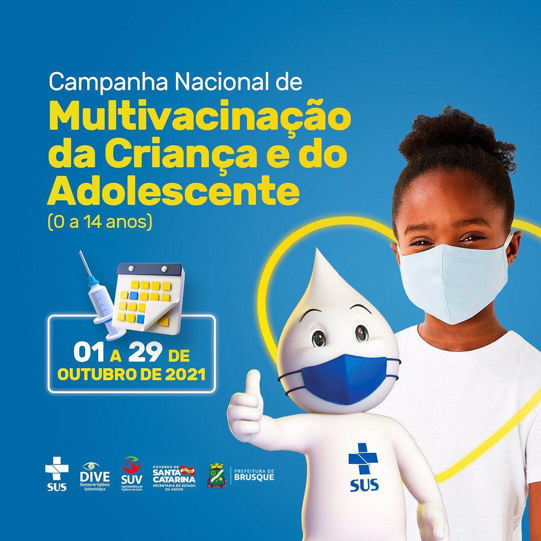 Vigilância em Saúde se mobiliza para a Campanha Nacional de Multivacinação