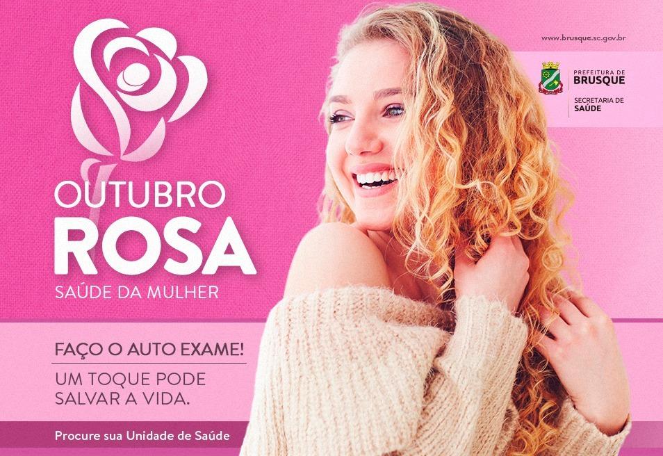O mês rosa iniciou: Ações de prevenção marcarão o Outubro Rosa, em Brusque