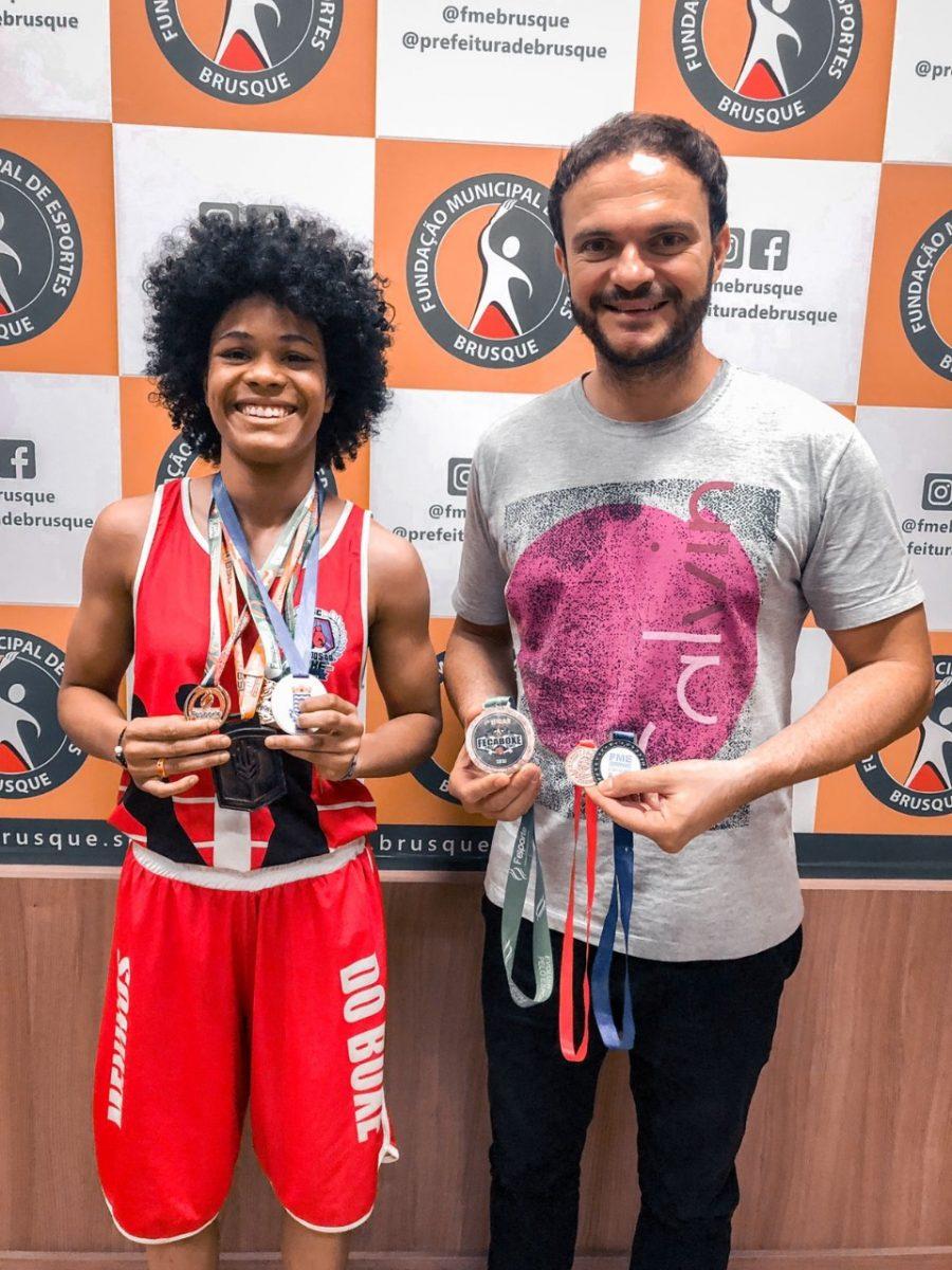 Atleta Brusquense é selecionada para representar Santa Catarina no Campeonato Brasileiro de Boxe