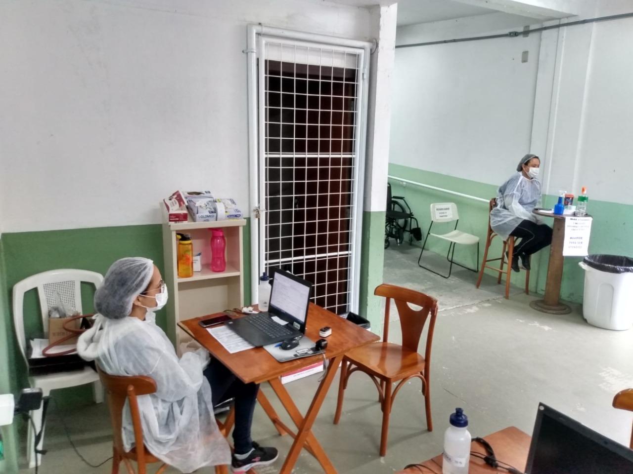 Centro de Triagem para Sintomáticos Respiratórios funciona normalmente neste feriadão