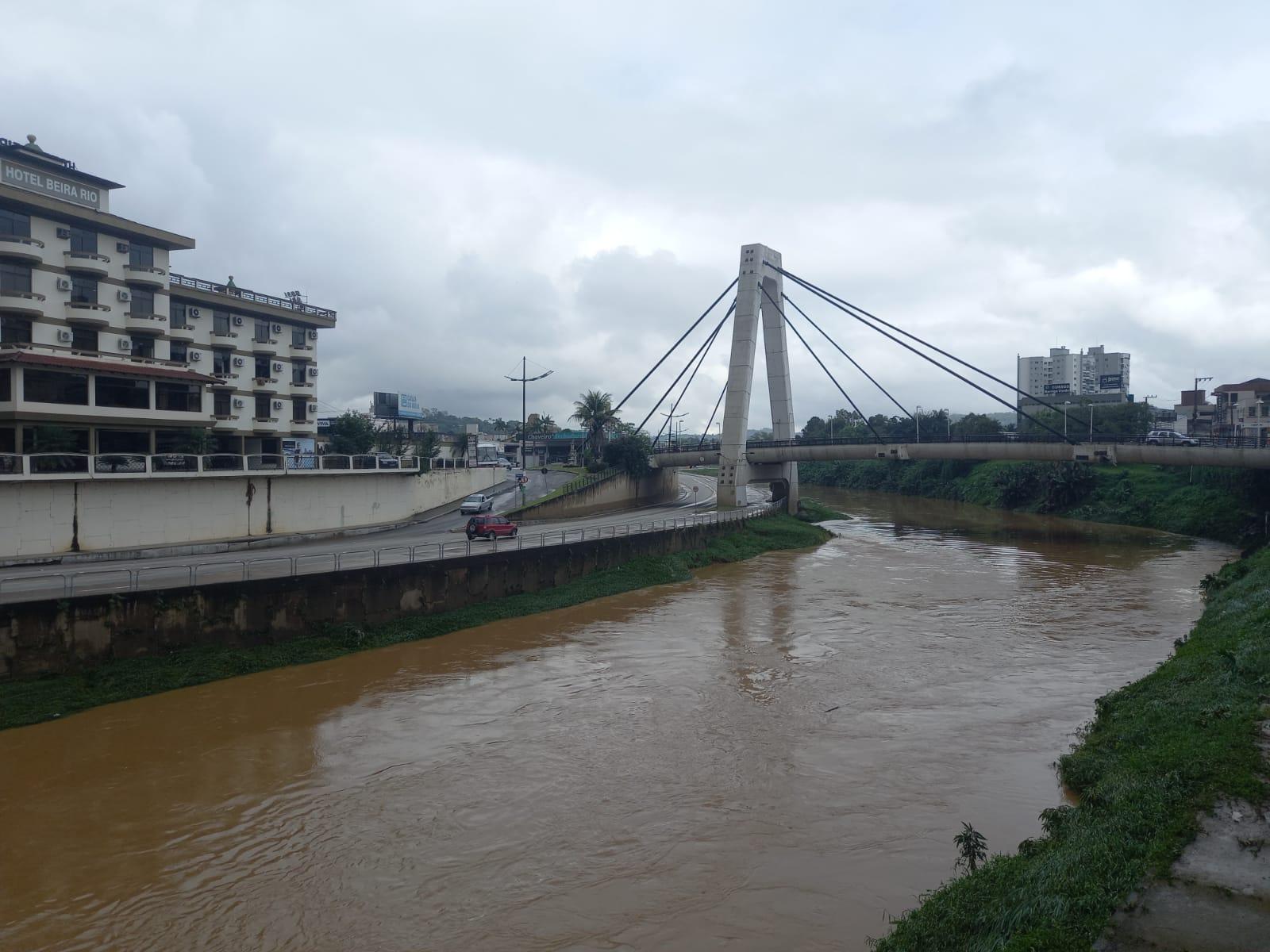 Defesa Civil de Brusque atualiza boletim com as ocorrências em virtude das chuvas