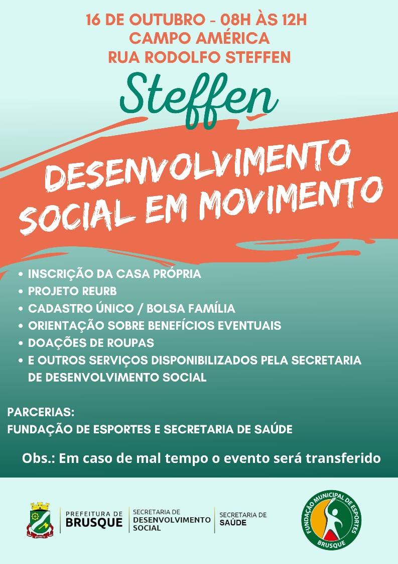 Steffen recebe Desenvolvimento Social em Movimento